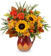 Teleflora's Alluring Ombre Bouquet