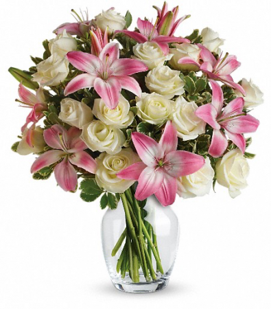 Teleflora's -Always a Lady Vase Bouquet
