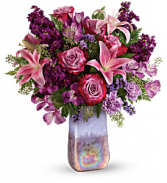 Teleflora's Amethyst Jewel Bouquet  in Tampa, Florida | Blooms & Bouquets