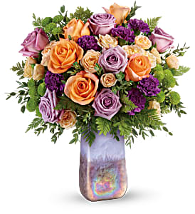 Teleflora's Amethyst Sunrise TEV58-2B Bouquet in Moses Lake, WA   FLORAL OCCASIONS