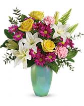 Teleflora's Aqua Artistry Bouquet