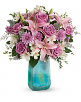 Teleflora's ArtGlass Treasure Bouquet