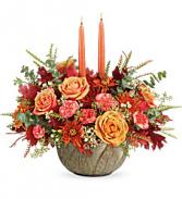 Teleflora's Artisanal Autumn Centerpiece