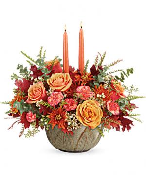 Teleflora's Artisanal Autumn Centerpiece in Wray, CO | LEIGH FLORAL & GIFT