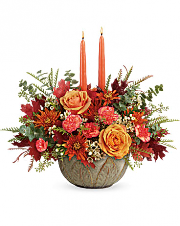 Teleflora's Artisanal Autumn Centerpiece Centerpiece