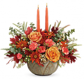Teleflora's Artisanal Autumn Centerpiece  Fall