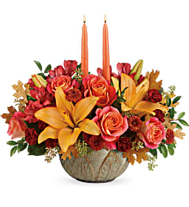 Teleflora's Artistic Glow T19T105B Centerpiece  in Moses Lake, WA | FLORAL OCCASIONS