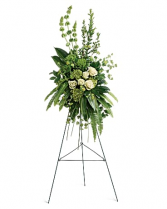 Teleflora's At Peace Spray Sympathy Arrangement