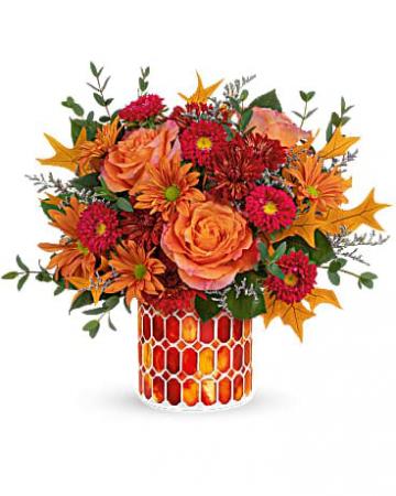 Teleflora's Autumn Aglow Bouquet