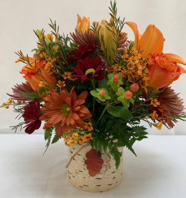 Teleflora's Autumn Colors Fresh Arrangement