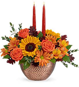 Teleflora's Autumn Copper  in Florenceville Bristol, NB | JT's Flowers