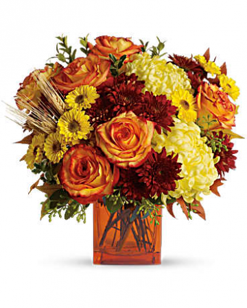 Teleflora's Autumn Expression Bouquet Fall Fresh Arrangement