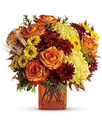 Teleflora's Autumn Expression Bouquet Fall Fresh Arrangement