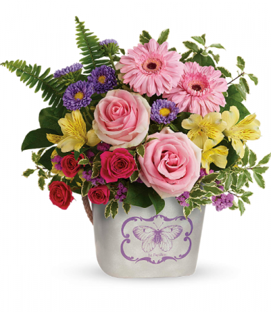 Teleflora's Backyard Butterfly Bouquet