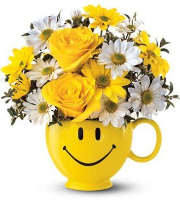Be Happy Bouquet Get Well (T43-A)