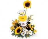 Teleflora's Be Well Bouquet Fresh arrangement