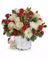 Teleflora's Bear Buddy Bouquet