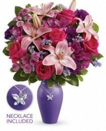 Teleflora's Beautiful Butterfly Bouquet Mother's Day