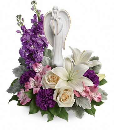 Beautiful Heart Sympathy Arrangement