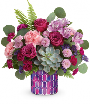 Teleflora's Bedazzling Beauty Bouquet in Wray, CO | LEIGH FLORAL & GIFT