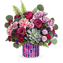 Teleflora's Bedazzling Beauty Bouquet DX  T21S100B