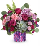Teleflora's Bedazzling Beauty T21S100B  Bouquet