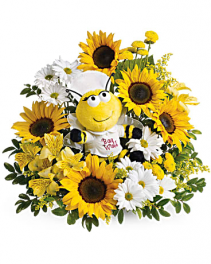 Teleflora's Bee Well Bouquet Bouquet