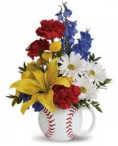 Teleflora's Big Hit Mug Bouquet