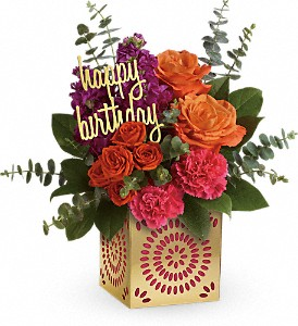 Teleflora's Birthday Sparkle Bouquet  in Florenceville Bristol, NB | JT's Flowers