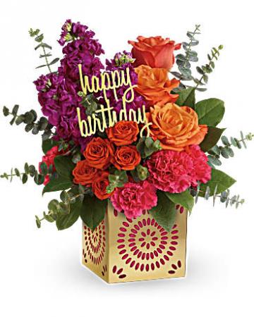 Teleflora's Birthday Sparkle Bouquet Birthday