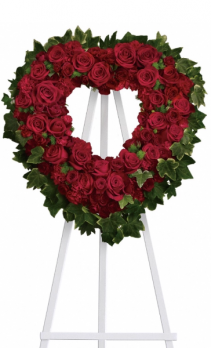 Teleflora's Blessed Heart Standing spray