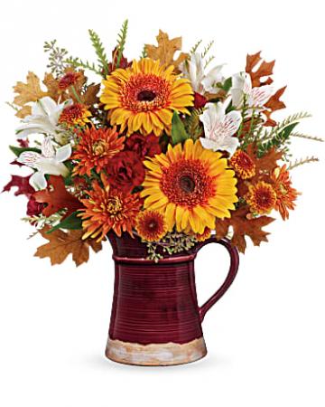Teleflora's Blooming Fall Bouquet bouquet