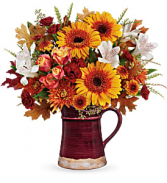 Teleflora's Blooming Fall T19T210B Bouquet