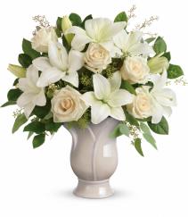 Teleflora's Blooming Tulip Vase Vase Arrangment