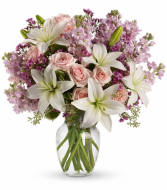Teleflora's Blossoming Romance Fresh Arrangement