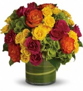 Teleflora's Blossoms in Vogue Vased Arrangement