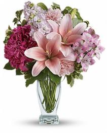 Teleflora's Blush of Love Bouquet Arrangement