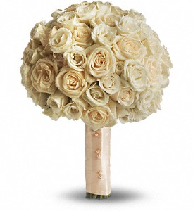 Teleflora's Blush Rose Bouquet Wedding Bouquet in Auburndale, FL | The House of Flowers