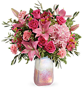 Teleflora's Blushing Gemstone T20V205B Bouquet  in Moses Lake, WA | FLORAL OCCASIONS