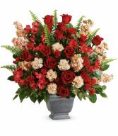 Teleflora's Bold Tribute Bouquet Sympathy