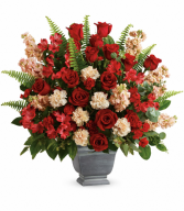 Teleflora's Bold Tribute T279-2B Bouquet