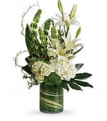Teleflora's Botanical Beauty Fresh Arrangement