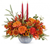Teleflora's Bountiful Blessings Centerpiece  Fall