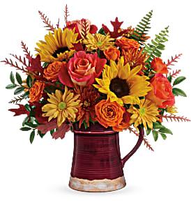 Teleflora's Bounty Of Blooms T19T205B Bouquet in Moses Lake, WA | FLORAL OCCASIONS