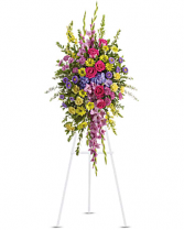 Teleflora's Bright and Beautiful  Flower arrangement