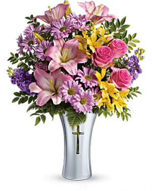 Teleflora's Bright Life Bouquet   in Thibodaux, LA | BEAUTIFUL BLOOMS BY ASIA