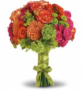 Teleflora's Bright Love Bouquet  Wedding Bouquet