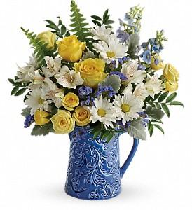 Teleflora's Bright Skies Bouquet T18E205B Bouquet