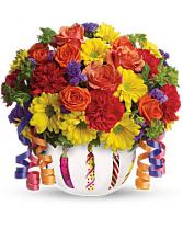 Teleflora's™ Brilliant Birthday Blooms Birthday
