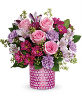Teleflora's Bubbling Over Bouquet Spring